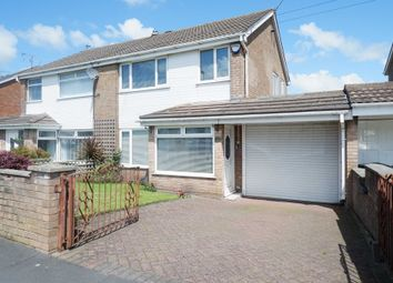 Thumbnail 3 bed semi-detached house for sale in Hall Lane, Simonswood, Liverpool