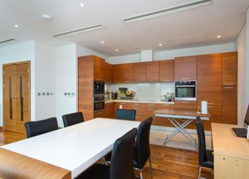 Thumbnail 3 bed flat to rent in Chelsea Bridge Wharfh, Hawker Building, 350 Queenstown Road, London