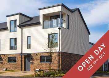 Thumbnail 4 bedroom end terrace house for sale in Stockholm Chase, Milton Keynes