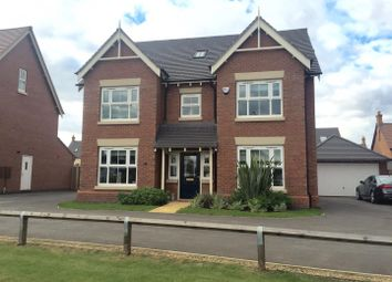 Thumbnail 5 bed detached house for sale in Summerhill Drive, Nuneaton