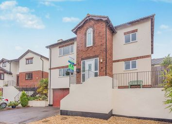 Thumbnail 4 bed detached house for sale in Meadow View, Ogwell, Newton Abbot