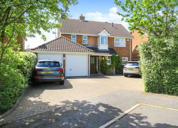 Thumbnail 4 bed detached house for sale in Saffron Close, Luton