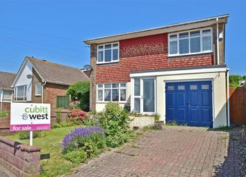 Thumbnail 3 bed detached house for sale in Crescent Drive North, Woodingdean, Brighton, East Sussex