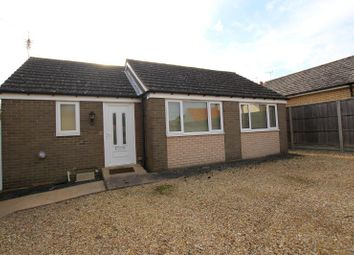 Thumbnail 2 bed detached bungalow to rent in Askews Lane, Yaxley, Peterborough