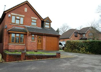 Thumbnail 4 bedroom detached house for sale in Silverbirch Close, Hartshill, Nuneaton, Warwickshire