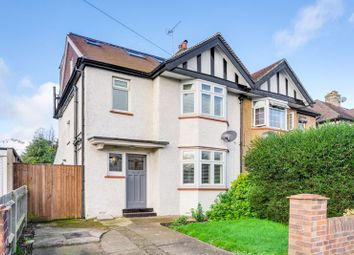 Thumbnail 4 bed semi-detached house for sale in Princes Avenue, Tolworth, Surbiton