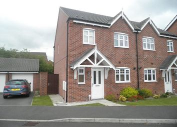 Thumbnail 3 bed semi-detached house to rent in Sorrel Court, Hawarden, Deeside