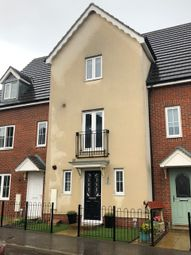 Thumbnail 3 bed terraced house to rent in Wagtail Drive, Stowmarket, Suffolk