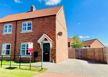 Thumbnail 2 bed semi-detached house to rent in Hawks Road, Welton, Lincoln