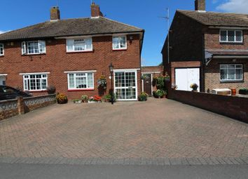 Thumbnail 3 bed semi-detached house for sale in Crowhurst Way, Orpington, Kent