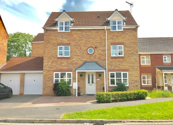 Thumbnail 4 bed detached house for sale in Saxthorpe Road, Hamilton, Leicester