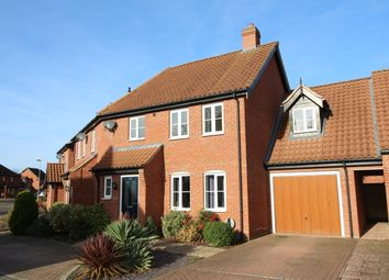 Thumbnail 3 bed semi-detached house for sale in Captain Ford Way, Dereham