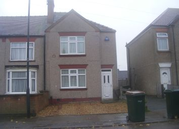 Thumbnail 2 bed end terrace house to rent in Masser Road, Coventry
