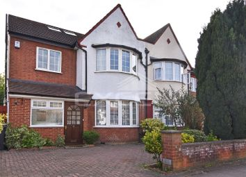 Thumbnail 4 bed property to rent in Hervey Close, Finchley, London