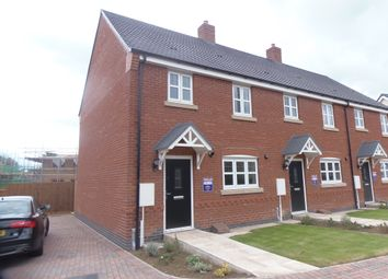 Thumbnail 3 bed town house to rent in Daultry Road, Huncote