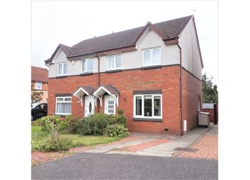 Thumbnail 3 bed semi-detached house for sale in Woodville Court, Broxburn