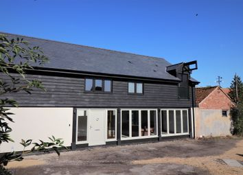 Thumbnail 4 bed barn conversion to rent in Boxford Road, Milden, Ipswich, Suffolk