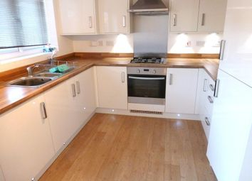 Thumbnail 2 bed town house to rent in Hattersley Way, Leicester