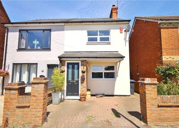 Thumbnail 3 bed semi-detached house for sale in Mead Lane, Chertsey, Surrey