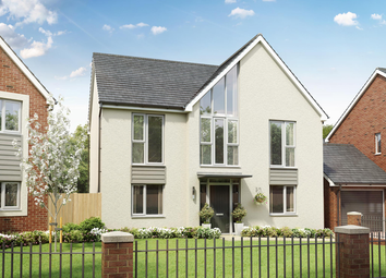 Thumbnail 4 bed detached house for sale in Weogoran Park, Off Whittington Road, Worcester