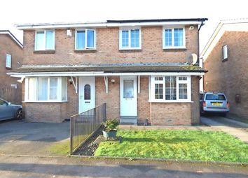 Thumbnail 3 bed semi-detached house for sale in Strathleven Drive, Alexandria, West Dunbartonshire