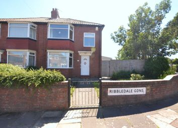 2 bed semi-detached house for sale in Ribbledale Gardens, High Heaton, Newcastle Upon Tyne NE7