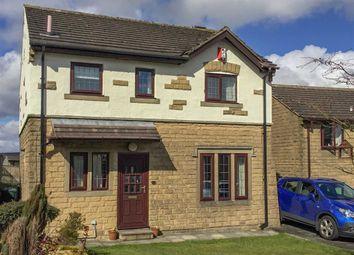 Thumbnail 4 bed detached house for sale in Heatherlands Avenue, Denholme, West Yorkshire