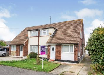 Thumbnail 3 bed semi-detached house for sale in Coombe Road, Southminster