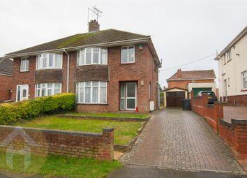 Thumbnail 3 bedroom semi-detached house for sale in Longleaze, Royal Wootton Bassett, Swindon