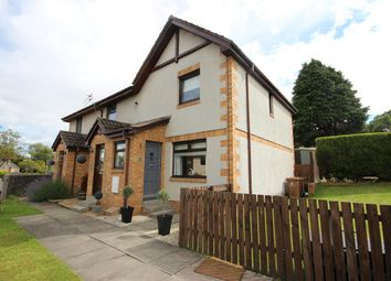 Thumbnail 3 bed end terrace house for sale in High Road, Maddiston, Falkirk
