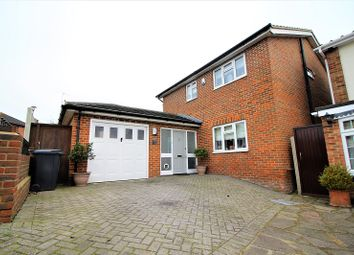Thumbnail 4 bed detached house for sale in Pancroft, Abridge, Romford