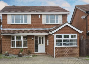 Thumbnail 4 bed detached house to rent in Limefield Close, Earley, Reading