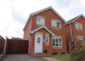 Thumbnail 3 bedroom detached house for sale in Turin Close, Weston Park
