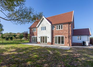Thumbnail 5 bed detached house for sale in Attleborough Road, Caston, Attleborough