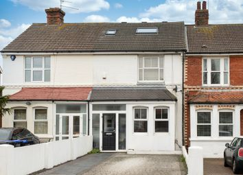 Thumbnail 3 bed terraced house for sale in Cross Road, Southwick, Brighton