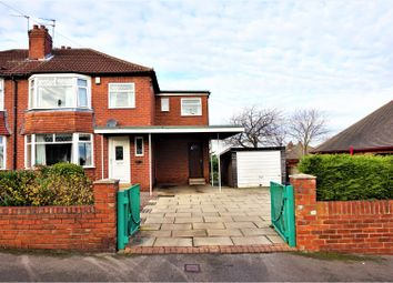 Thumbnail 4 bed semi-detached house for sale in Woodland Road, Whitkirk