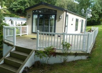 Thumbnail 2 bed mobile/park home for sale in Woodlands Hall, Llanfwrog, Ruthin
