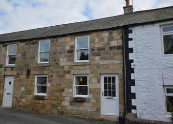 Thumbnail 2 bed terraced house for sale in Providence Lane, Rothbury, Morpeth