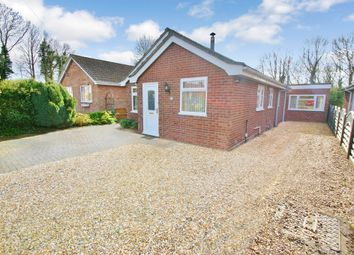 Thumbnail 2 bedroom detached bungalow for sale in Freyden Way, Frettenham, Norwich