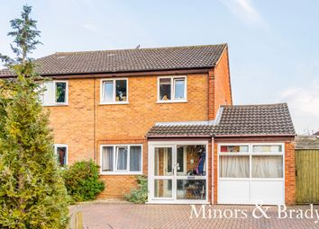 Thumbnail 3 bed semi-detached house for sale in Oakwood Road, Dereham