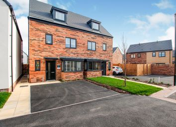 Thumbnail 3 bed semi-detached house for sale in Chester Drive, Lakeside, Doncaster