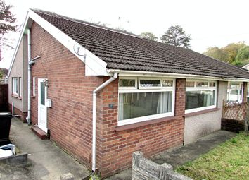 Thumbnail 4 bed semi-detached bungalow for sale in Lon Brynteg, Neath, Neath Port Talbot.