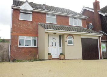 Thumbnail 4 bed detached house for sale in Barnham Broom Road, Wymondham