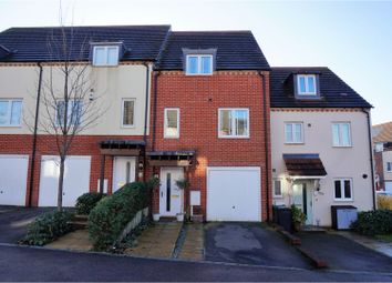 Thumbnail 3 bed town house for sale in Melrose Close, Maidstone