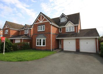 Thumbnail 4 bed property for sale in Swain Close, Wem, Shrewsbury