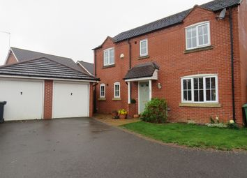 Thumbnail 4 bedroom detached house for sale in Wake Way, Grange Park, Northampton