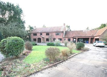 Thumbnail 5 bed detached house to rent in Breck Road, Weston Green, Weston Longville, Norwich