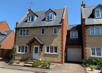 Thumbnail 5 bed detached house for sale in Alexander Court, Irchester, Northamptonshire