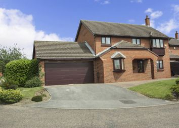 Thumbnail 4 bed detached house for sale in Brockadale Avenue, Pontefract
