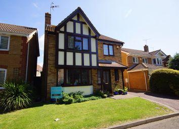 Thumbnail 4 bedroom detached house for sale in Eton Walk, Shoeburyness, North Shoebury